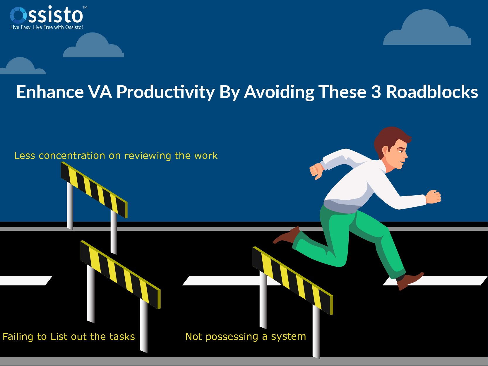 Three Productivity Roadblocks to Avoid When Working With Your VA - cover