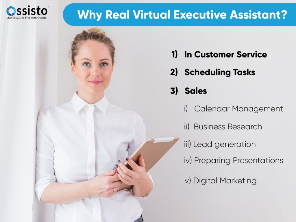 Why Real Virtual Executive Assistant?