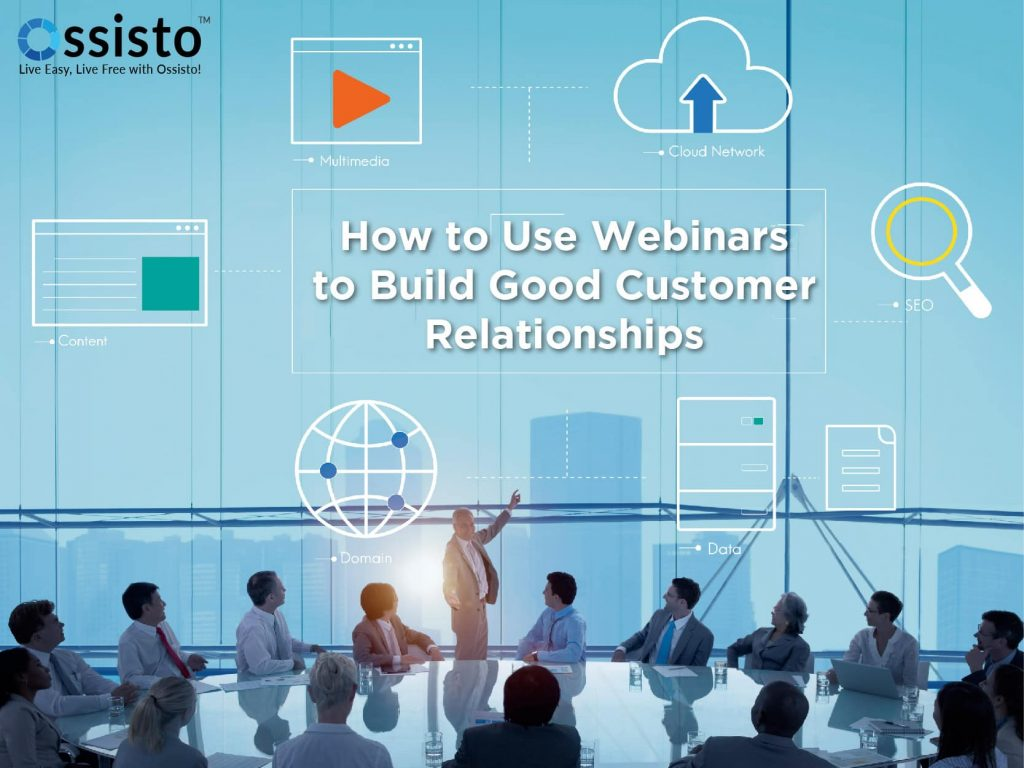 What must be included in a Webinar?