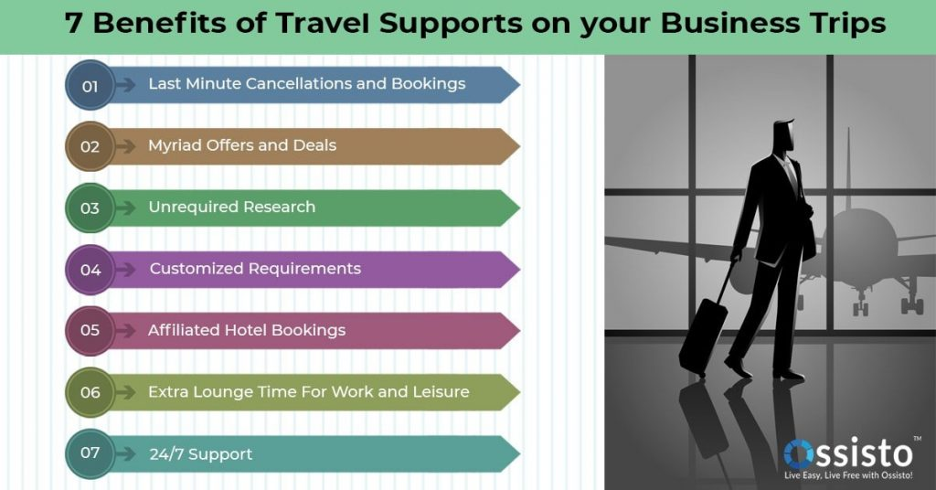 7 Benefits of travel supports