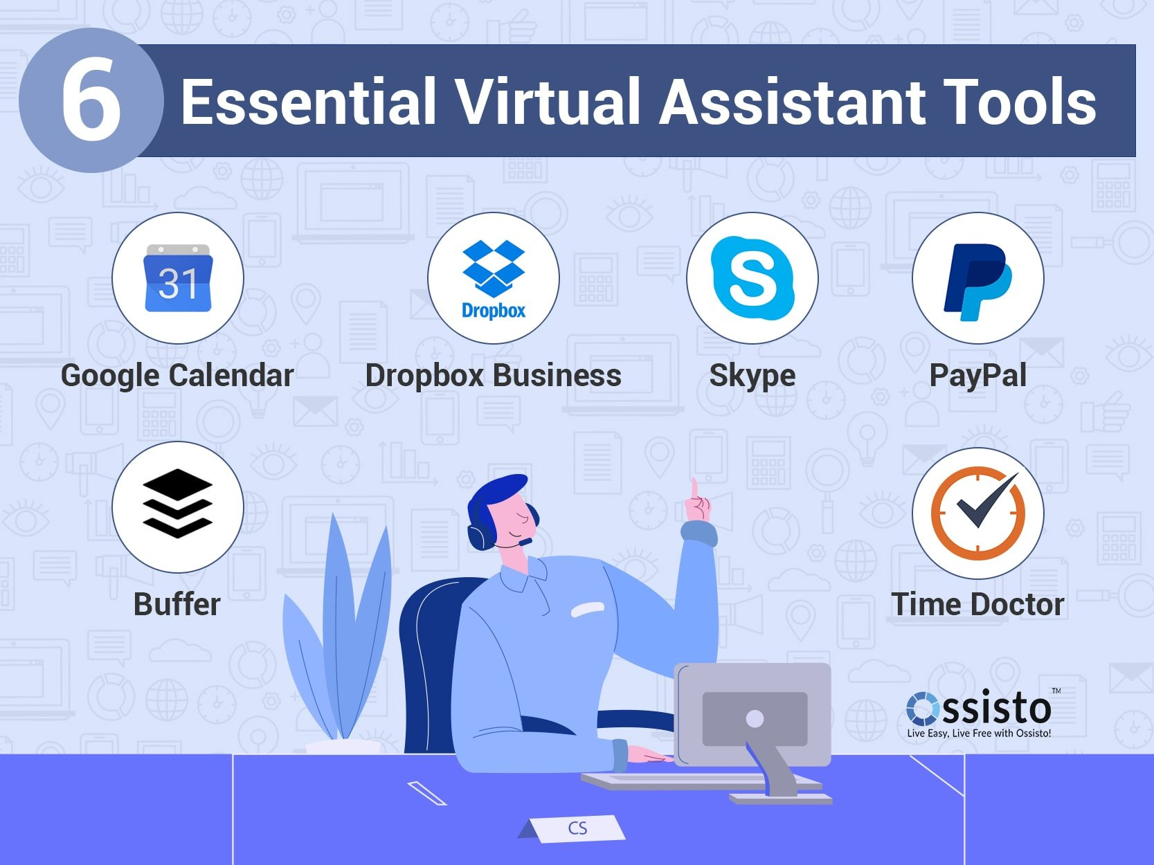 ESSENTIAL VIRTUAL ASSISTANT TOOLS