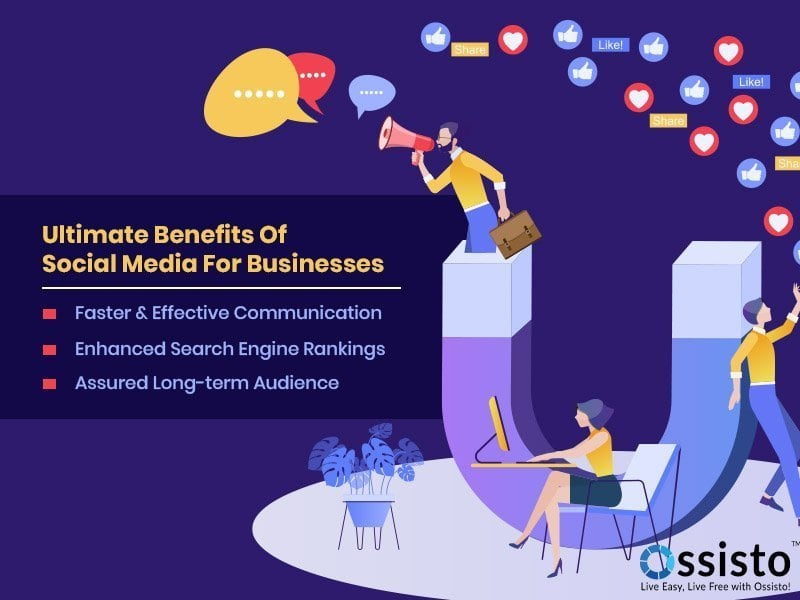 Ultimate Benefits of Social Media for Businesses