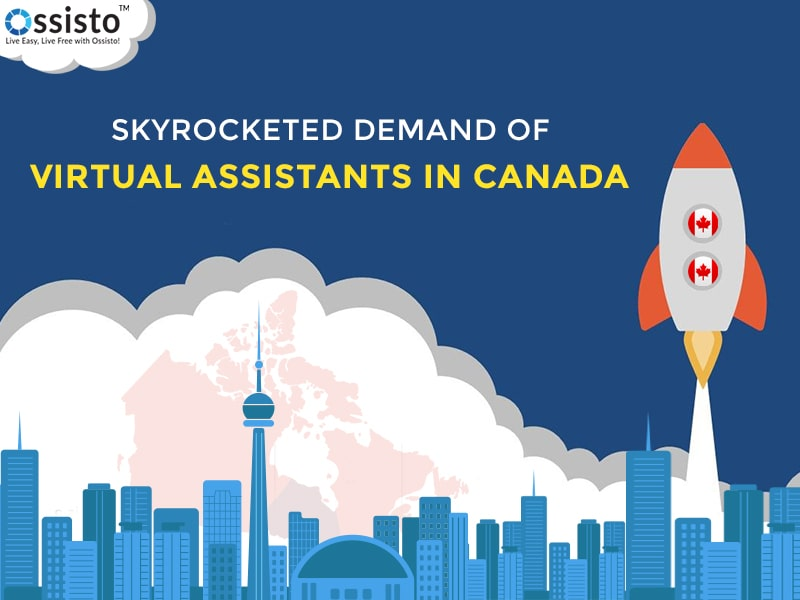 Skyrocketed Demand Of Virtual Assistant In Canada
